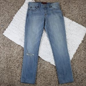 Lucky Brand Sweet'n Straight Distressed Jeans Sz26